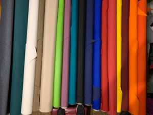 couleur des tambour en toile